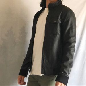 NEW Charles and a Half - S - Faux Leather jacket